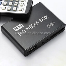 Wholesale Mini Media Player Box Boxchip F10 Support Auto-play Full Movie Download Multi-language OSD HD 1080p
