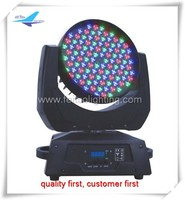 disco stage led light show 108 3w led moving head wash