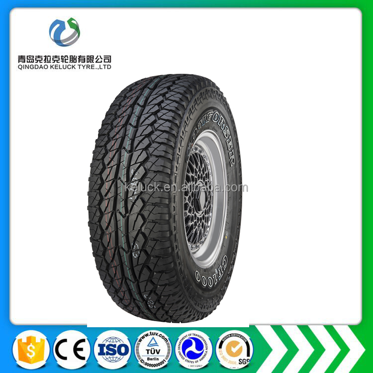 good quality comforser brand car tire LT265/70R17 semi steel radial tyre car tire