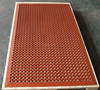 magnetic textured surface acoustic rubber mats