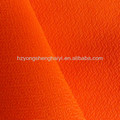 600D interlock fabric waterproof pu coating fabric for luggage