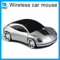 ISO9001 approved factory 2.4g usb car mouse wireless wireless car shape mouse