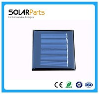 60*90mm 0.6W 1.5V Mini Solar Panel Epoxy Resin Solar Panel