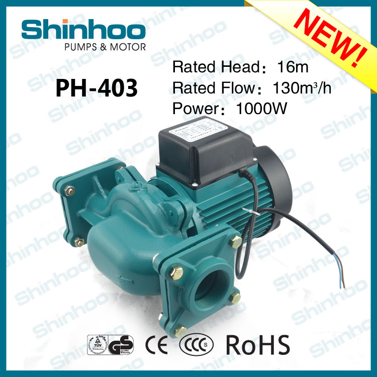 403 PH Shinhoo New Product High Efficiency Home Using Silent Heating Water Pump