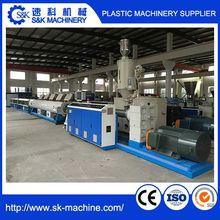 Counter Rotating High Speed PVC PE PPR Pipe Conical Twin Screw EXtruder