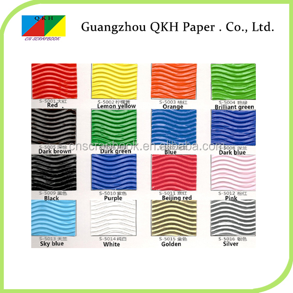Newest design Gifts & Crafts color corrugated paper roll/craft of corrugated paper for kids