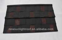 gazebo tile roof factory in china /SONCAP colorful stone coated metal roofing shingles/Plain Roof Tiles