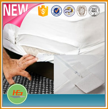 100% polyester microfiber coated PU waterproof mattress cover