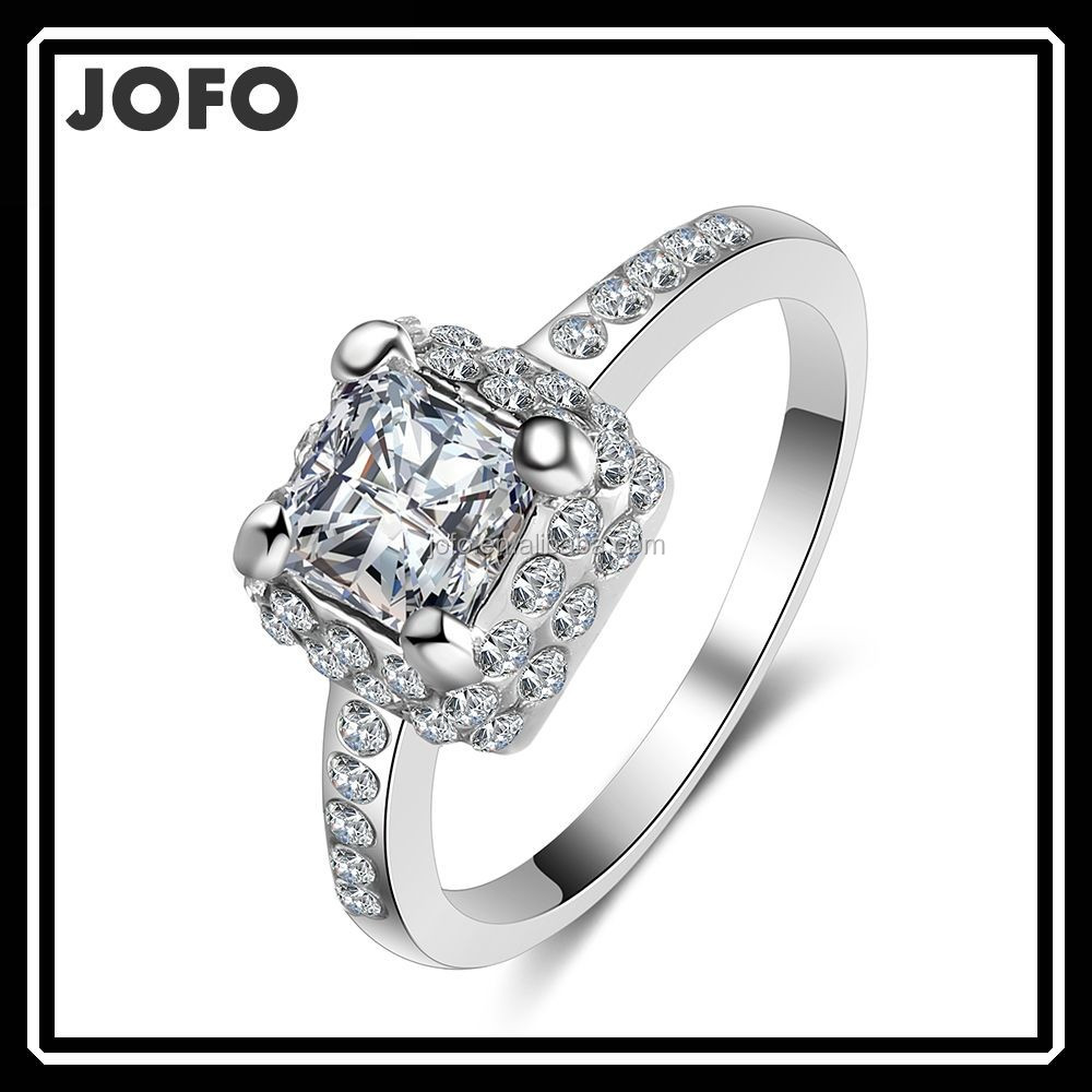 Clear AAA CZ Beautiful Wedding Bridal Vintage Ring One Big Stone Ring XPJ0367