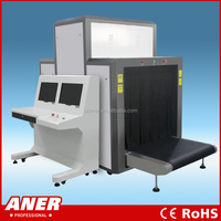Photographic container scanning x-ray security system for luggage inspection