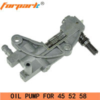 Forpark 4500 5200 5800 Chain saw Spare Parts Oil Pump