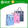 Polyester notebook bag OEM logo organizer office school book mother portable bags for shopping hard liner