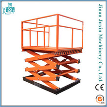 cheap sale stationary hydraulic skyjack scissor lift table