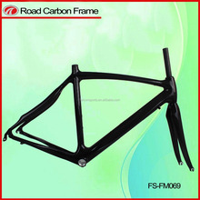 Hot ! safety bicycle frame carbon road with bike carbon frame FM069