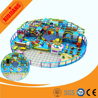 kids playground houses indoor play area for restaurant ( XJ5211)