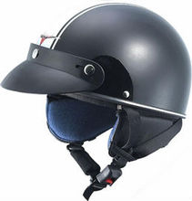 Motorcycle open face helmet with DOT, CE approved, ABS shell wholesale german vintage