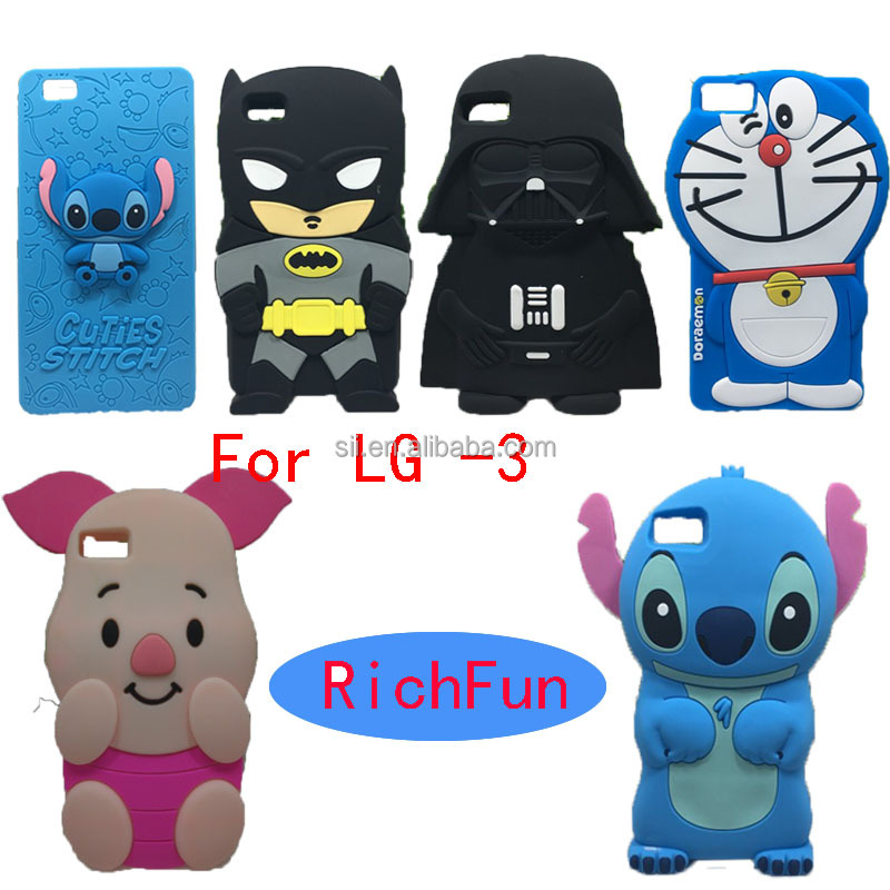 Hot 3D Lovely Cartoon Cuties Stitch Soft Silicon Back Cover <strong>Phone</strong> Case For LG Optimus K4 K5 K7 K8 K10 <strong>Q10</strong> Q7 Q5