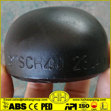 SCH40 Carbon Steel Butt Welded Pipe Fitting End Caps