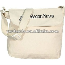 2012 fashion organic plain canvas shoulder bags wholesale