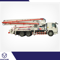 Mobile 24m Truck Mounted Concrete Pump Truck For Sale