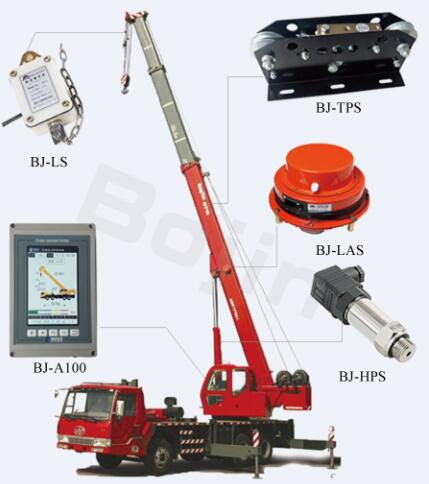 BOJIN lifiting safety system mobile crane load moment limiter BJ-A100
