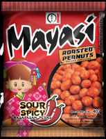 Mayasi Peanuts Sour and Spicy