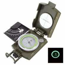 High Quality Military Army Geology Compass Sighting Luminous Compass for Outdoor Hiking Camping