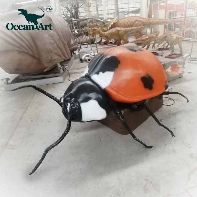 OAH8305 Amusement park lifelike artificial robot insect model