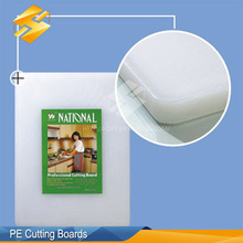 high quality lap white poly pe cutting boards chopping block plastic chopping board for family use