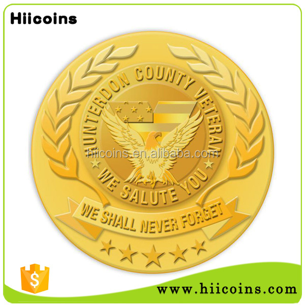 Metal gifts factory direct salling metal coins custom rice puller coin