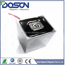 Customized Square Electro Holding Magnet, Solenoid Electromagnetic