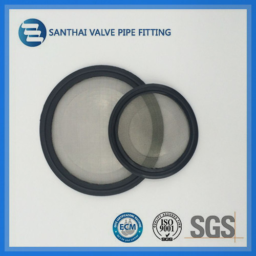 Food Grade Professional Washer Filter Clamp Seal With Screen Mesh