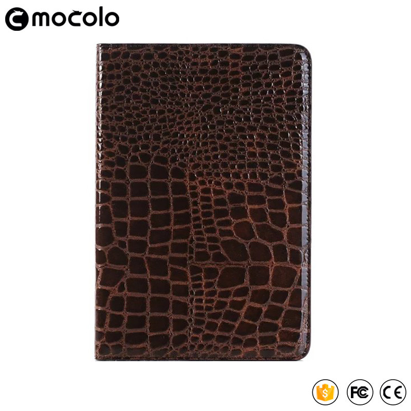 Mocolo wholesale price full cover flip pu leather wallet stand tablet case for ipad pro case 9.7