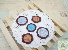 Wedding Double colors wax labels/Seal Double colors wax tag