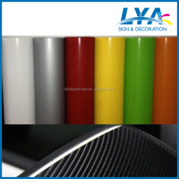 Hot selling 4d carbon fiber vinyl car sticker