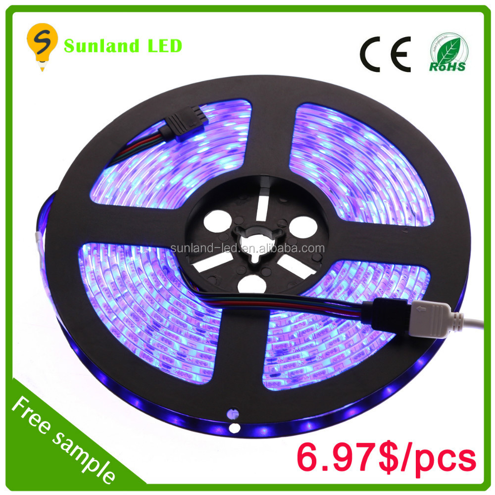 5m 5050 rgb dream color ip65 christmas led strip light green