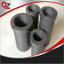 Graphite ceramic crucibles for melting gold