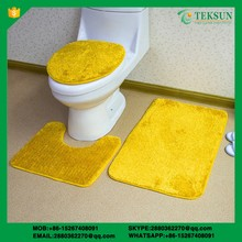 Bathroom Three-piece toilet rug sets/ waterproof bath rug