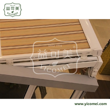 Anti UV electric aluminum awning retractable roof