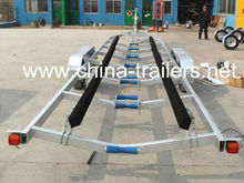 Tandem Axle Carpeted Rails Boat Trailer