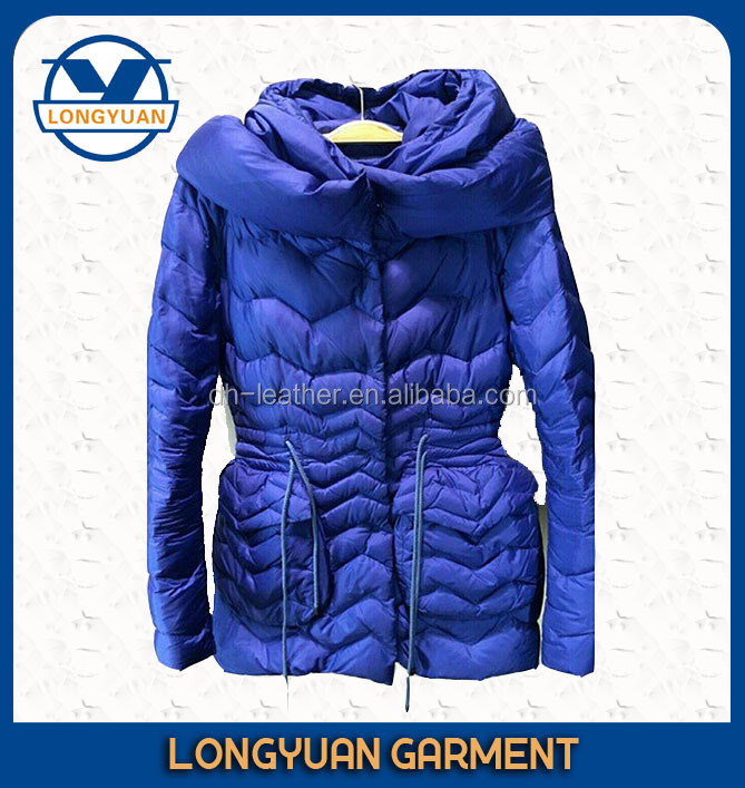 fashion new design Korea woman winter coat ladies warm padded blazer