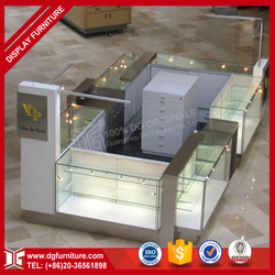 High End Retail Cell Phone Accessories Display Showcase Kiosk