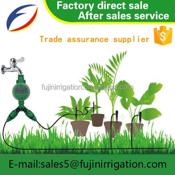 Popular in customers garden irrigation save water adjustable spray ground insert kits DIY irrigation micro sprinkler kits