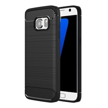 Hot sale Brushed Texture Fiber TPU Rugged Armor Protective Case For Samsung Galaxy S7 / G930