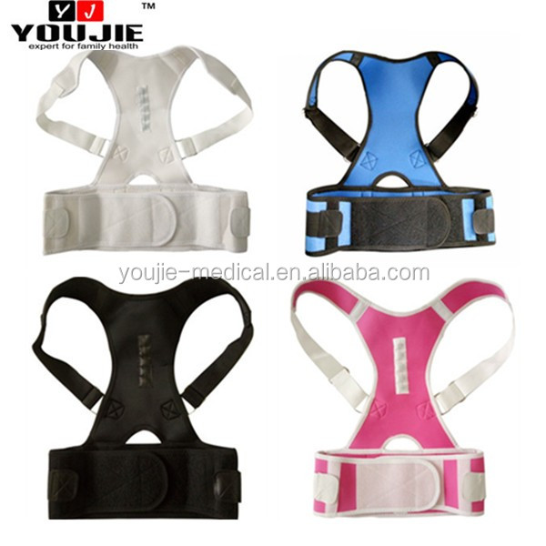 Adjustable Posture Back Shoulder back straightening support belt