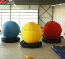 Colorful Inflatable Balloons with Bases/Event Decoration Balls
