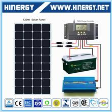A-grade cell high efficiency monocrystalline sun power solar panel 140w for wholesales