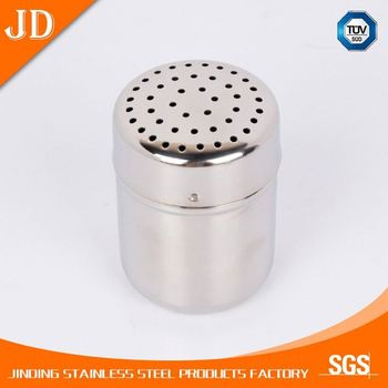 Decorative stainless steel Bulk Unique Wholesale Empty Spice Jars