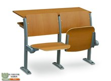 foldable school fixed desk and chair G3139A for classroom