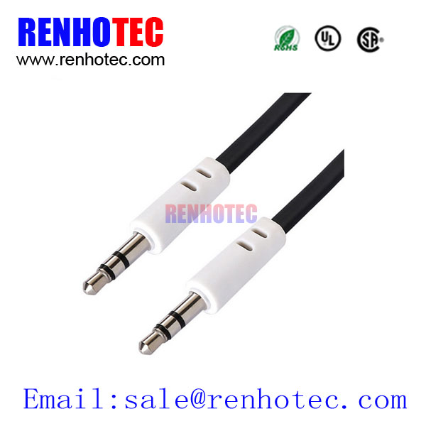 Male to male 3.5mm AUX for vehicle-mounted rca to firewire cable